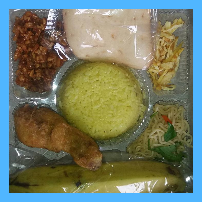 Nasi box Jogja Resep Nasi Kuning