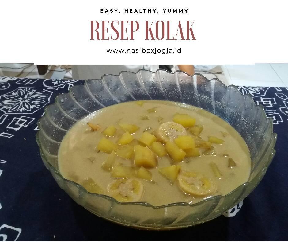 Resep Kolak